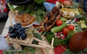 georgische Speisen gemäß der slow food Bewegung
