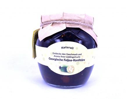 Süß eingelegte Feijoa in Sirup - ფეიხოას მურაბა 500 gr.