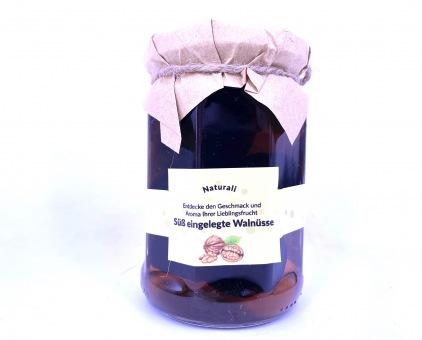 Süß eingelegte Walnüsse in Sirup - კაკლის მუარაბა 350 gr.