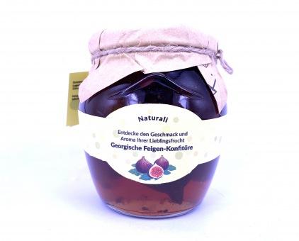 Süß eingelegte Feigen in Sirup - ლეღვის მურაბა 500 gr.